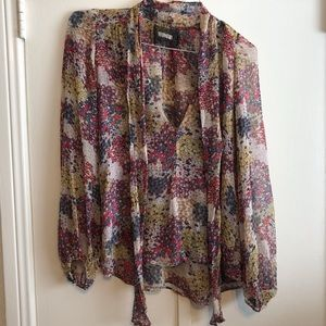Floral Reformation Blouse - Small